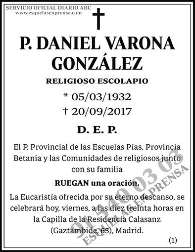 Daniel Varona González